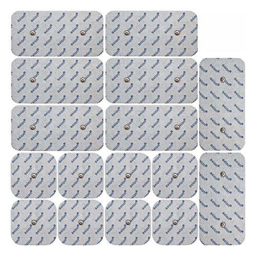 16 electrodos para Compex TENS EMS