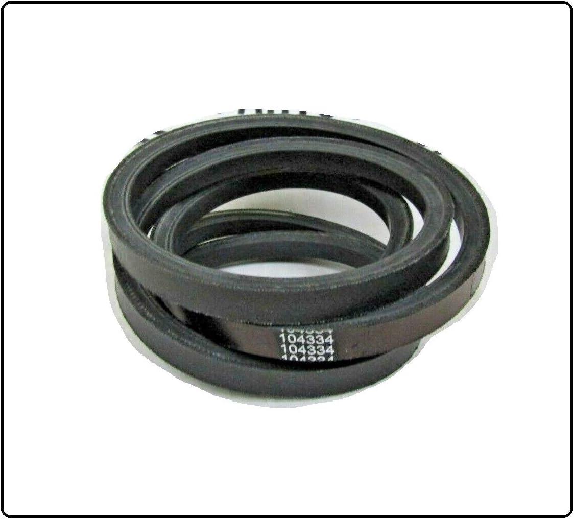 New OEM Atlanta Mall SPEC REPL Pump Drive Belt Yazoo Fresno Mall Compatible Kees 104334