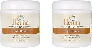 Best rainbow henna light brown Reviews