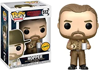 Funko Pop Television: Stranger Things - Hopper with Donut (Styles May Vary) Collectible Figure