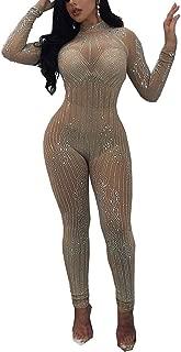 Best sequin jumpsuit long sleeve Reviews