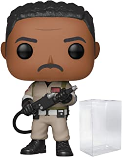 Funko Pop! Movies: Ghostbusters - Winston Zeddemore Pop! Vinyl Figure (Includes Compatible Pop Box Protector Case)