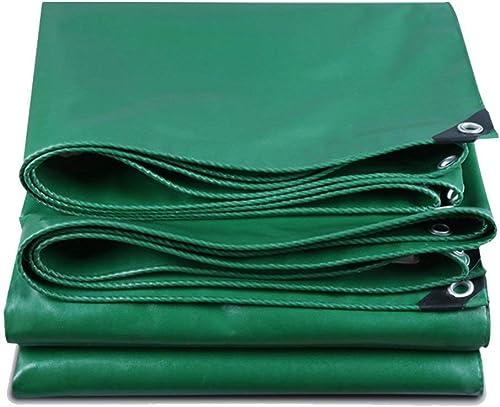 YINUO Tissu imperméable épais imperméable pour Pare-Soleil Bache de Pluie Abri de Voiture Camion Toile Bache Bache