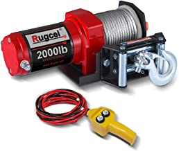 RUGCEL 2000-lb. ATV/UTV Electric Winch