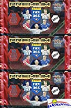 Very Rare 2017 Panini Adrenalyn XL FIFA 365 PREMIUM SPECIAL EDITION Lot of (3) Factory Sealed Booster Packs with (30) Cards Including (3) Limited Edition & (9) Special Cards! Imported from Europe!