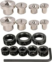 Steel Climax Metals TC-8 Drill Center Kit for Dowel and Tenon Assortment Pack