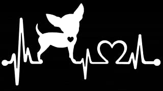 chihuahua heartbeat decal