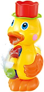 Konig Kids Water Spray Duck Bath Toy Set Bathtub Toy for Toddlers