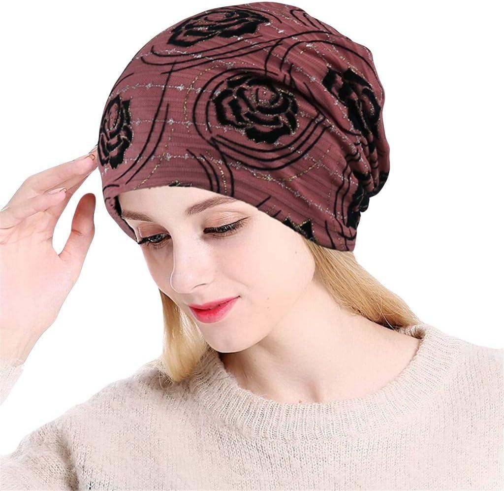 Eoailr Slouchy Beanies Caps for Women Chemo Cancer Hair Loss Chemo Caps Cancer Headwear Skull Cap Turban Head Wrap
