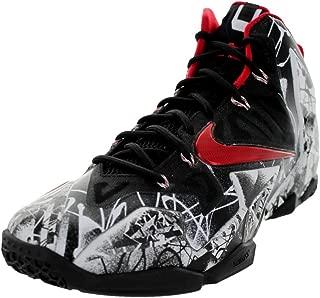Lebron XI Men Sneakers White/Black/University Red 616175-100