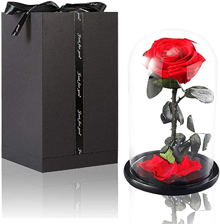 San valentino - rosa eterna  amycute  idea regalo san valentino B07V3XJZSQ