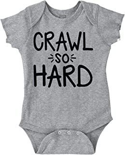 Ball Crawl So Hard Funny Hip Hop Quote Baby Romper Bodysuit