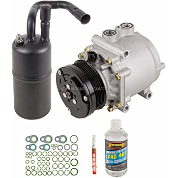 BuyAutoParts 60-81412RK NEW For Lincoln Continental 1995-2002 AC Compressor w//A//C Repair Kit