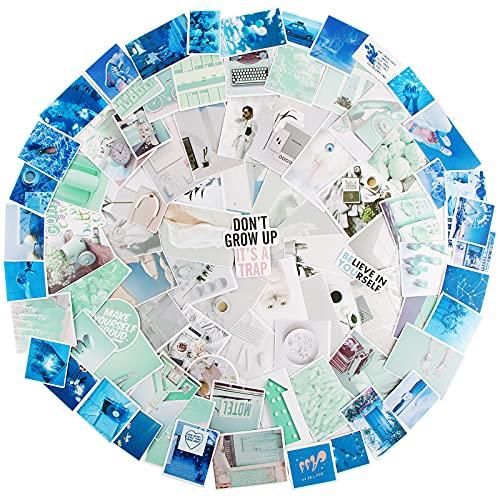 BETESSIN 180pcs Pegatinas Scrapbooking Agenda Pegatinas Adhesiva Álbum Recorte Diaria Washi Etiqueta Planificador Sticker Bullet Journal para Creación Decoración DIY Cuaderno Calendario Manualidad