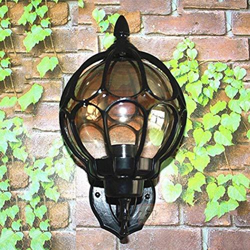 GODLOVEWORLD LED-wandlamp, waterdicht, E27, voor slaapkamer, hotel, nachtkastje, wandlamp, modern, minimalistisch, binnenplaats, wandlamp, zonder lichtbron