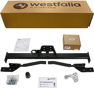 Starre Westfalia Anhängerkupplung (Anhängebock 2 Loch) für Trafic, Vivaro, Primastar (BJ 03/10 09/14) im Set mit 13 poligem fahrzeugspezifischen Westfalia Elektrosatz