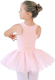 STELLE Girls Cute Tutu Dress Ballet Leotard for Dance (Toddler/Little Kid/Big Kid)