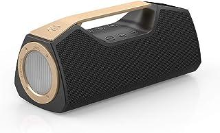 Wharfedale Bluetooth Speaker Outdoor Portable Wireless Speaker,IPX7 Waterproof,25W Loud Sound,Rich Bass,LED Light,Power Ba...