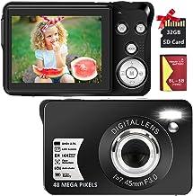 Digital Camera 2.7K 48 Mega Pixels 2.7 Inch HD Camera...