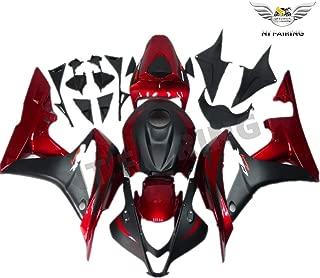 2007 2008 Black Red ABS Plastic Bodywork Injection Fairing Fit for Honda CBR600RR