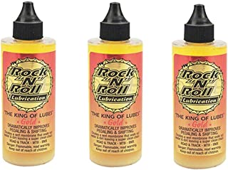 Rock N Roll 135816 Gold Chain Lubricant, 4-Ounce (3-Pack)