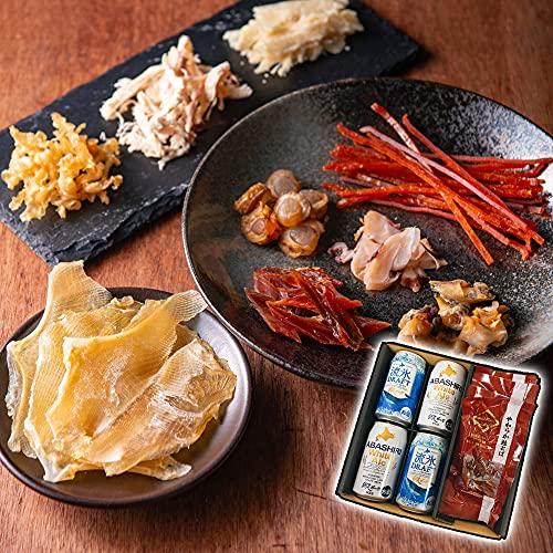 母の日 ビール おつまみ セット ギフト 北の匠味 北海道 ( 網走ビールと おつまみ ) 鮭とば 貝柱 つぶ貝 ほっけ ジャーキー