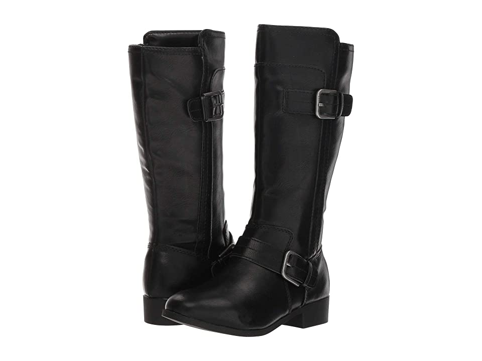 Nine West Kids Sahira (Little Kid/Big Kid) (Black Smooth) Girls Shoes