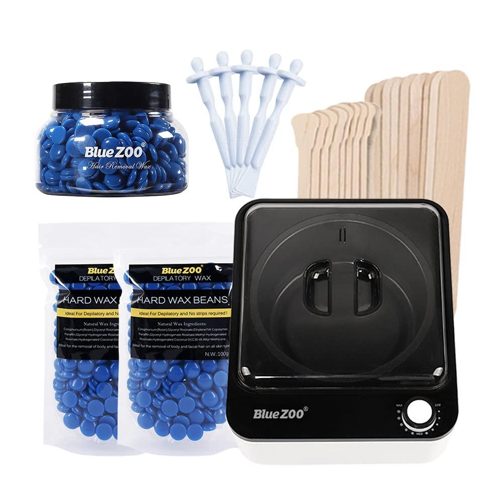 Hair Removal unisex Kit Wax Machine Set Heater safety
