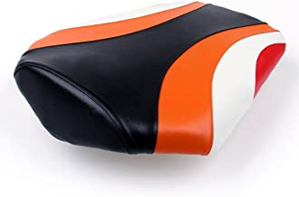 Artudatech asiento trasero de pasajero para motocicleta, asiento trasero de pasajero de piel, cojín de asiento de pilón para HON-DA CBR1000RR CBR 1000 RR 2008-2012