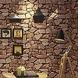Steine TapeteStudy Zimmer Wohnzimmer Restaurant Cafe - 2