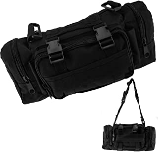 Outdoor Waist Pack Shoulder Molle Camping Hiking Pouch Bag