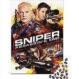 cellyone puzzle per adulti 1000 pezzi sniper: assassin's end movie poster 1000 puzzle per adulti giocattoli per l'intrattenimento domestico fai-da-te per adolescenti 75x50cm(1000pcs)