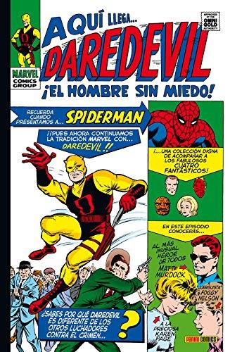 Daredevil 1 ¡El Hombre Sin Miedo! (MARVEL GOLD)