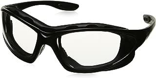 Uvex S0600X Seismic Safety Eyewear, Black Frame, Clear Uvextra Anti-Fog Lens/Headband