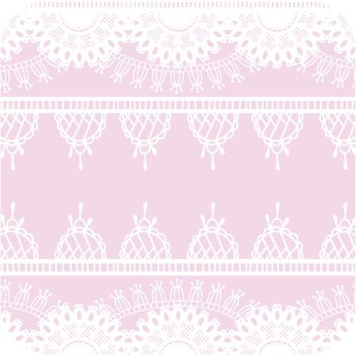 rosa e branco Wallpaper rendas