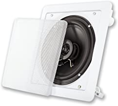 Acoustic Audio LC265i 6.5-Inch Square 2 Way Speaker (White)