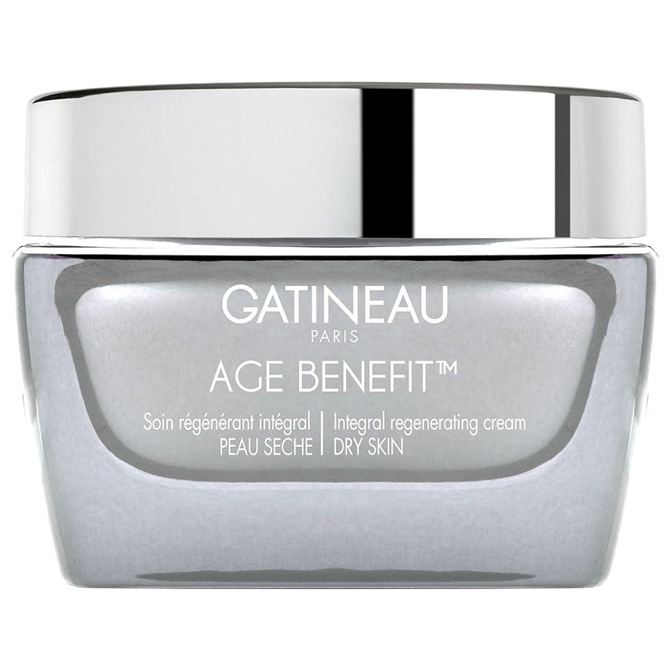 なめるフェードアウト分割ガティノー年齢給付再生ドライスキンクリーム、50ミリリットル (Gatineau) (x6) - Gatineau Age Benefit Regenerating Dry Skin Cream, 50ml (Pack of 6) [並行輸入品]