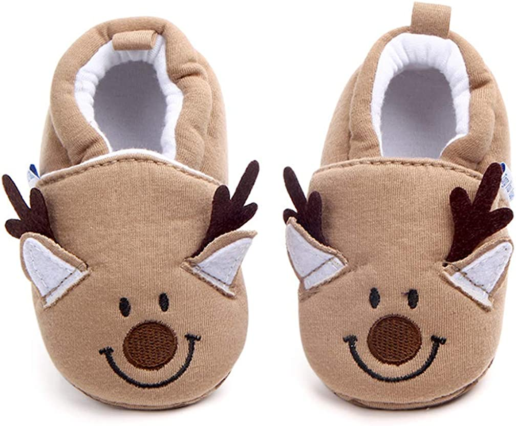 Infant/Toddler Baby Non Slip Soft Sole Cartoon Animal Walking Non-Skid Indoor Shoes Socks/Slippers