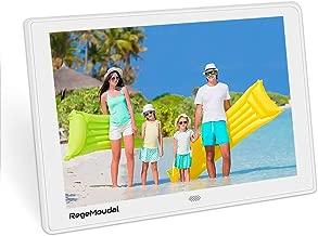 10 Inch Digital Photo Frame, RegeMoudalDigital Frame with High Resolution 1280800 IPS LCD Panel Support 128G SD Card/USB Stick Various Display Modes 1080P Video/Photo/Calendar/Time/Music