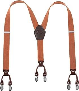 chocolate brown suspenders