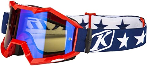 Klim Viper Men's Off-Road Motorcycle Goggles - Patriot Smoke Blue Mirror/One Size