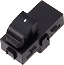 Power Window Switch Passenger Front Right, Rear Left or Right, Window Buttons, Fits for GMC Acadia, Sierra, Chevy Silverado, Tahoe year model 2006 - 2015 & more, Replace# 901-149 22895545 15888174