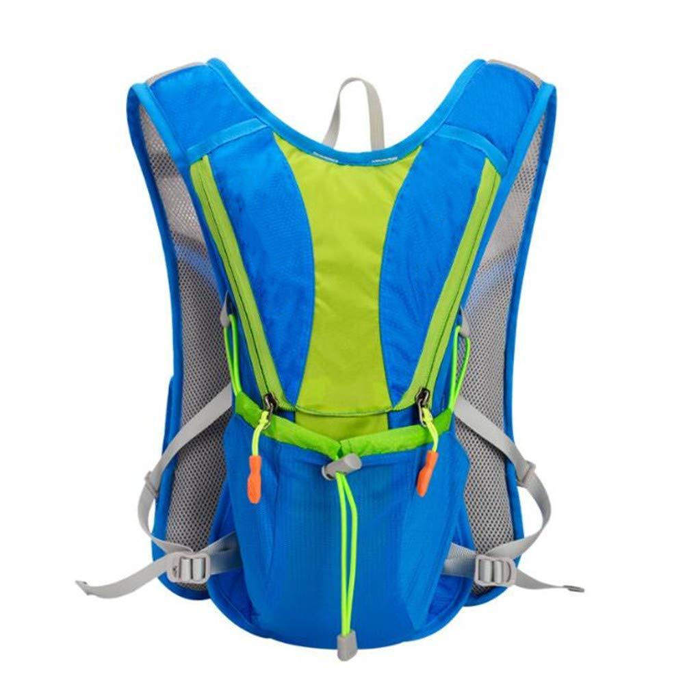 OOFAY Capacidad Interna Mochila Bicicleta De 2L Correr, Andar En Bicicleta, Senderismo, Mochilas Mochila De Hidratación Maratón Azul Impermeable: Amazon.es: Deportes y aire libre