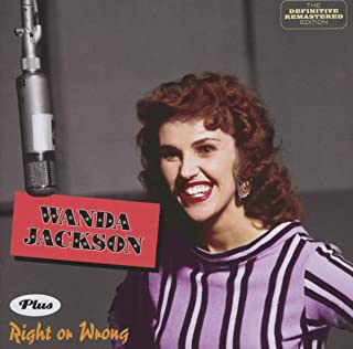 Wanda Jackson + Right Or Wrong + 6(import)