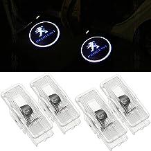 4 Pack Coche Puerta Luz LED proyector luz Bienvenue Logo Puerta iluminación de entrada decoración proyección Luz 408 508 RCZ