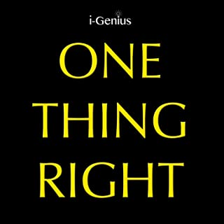 One Thing Right (Instrumental)