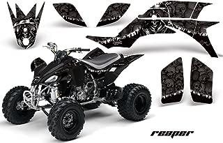 Yamaha YFZ 450 2004-2013 ATV All Terrain Vehicle AMR Racing Graphic Kit Decal REAPER BLACK