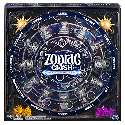 Zodiac Clash, Strategic 3D Solar System Board Game, for 2 or 4 Players Aged 8 and Up