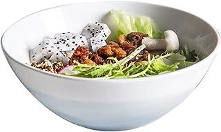 Household Korean Ceramic Bowl Creative Small Tableware Large Rice Bowl Soup Bowl Big Bowl Mountain River