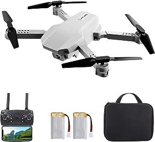 Hometool KK5 RC Drone with Camera 4K Wifi FPV Dual Camera Drone Mini Folding Quadcopter Toy for Kids with Gravity Sensor C...